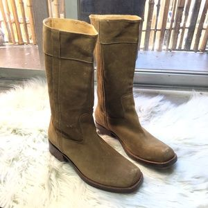 Robert Clergerie Tall Suede Boots